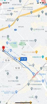 【地図】日興パレス東山
