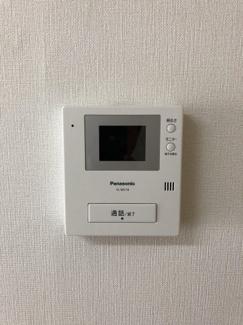 TVモニターインターフォンがあるので、セキュリティ面も安心です。