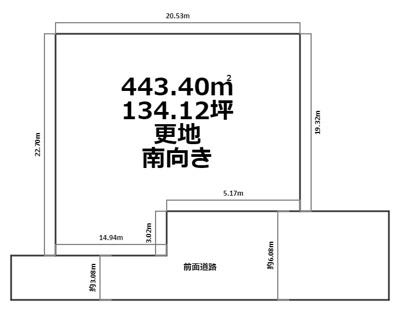 【外観】吹田市高野台三丁目 売土地