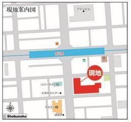 【地図】墨田区菊川3丁目 区分店舗事務所