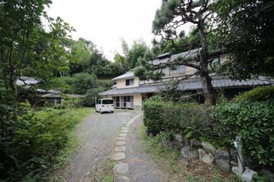 【外観】大津市伊香立生津町109 自然に囲まれた和風戸建