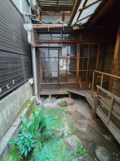 【庭】寺町通り蛸薬師店舗