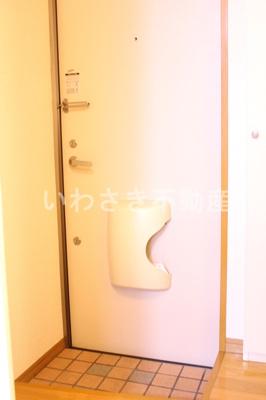 玄関 602号室参考写真