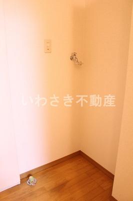 洗濯機置場 602号室参考写真