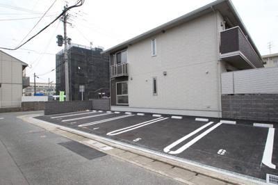 【駐車場】D-room麦野 壱番館(ディールームムギノイチバンカン)