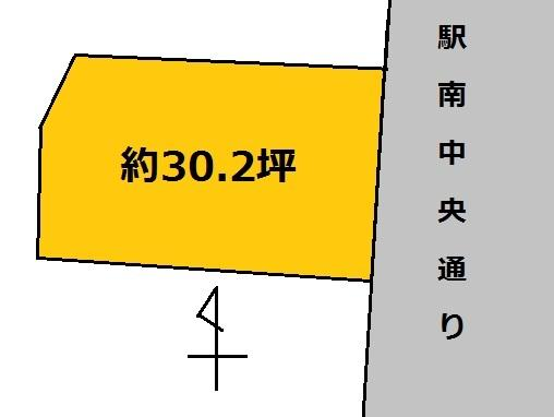【土地図】水戸市元吉田町土地