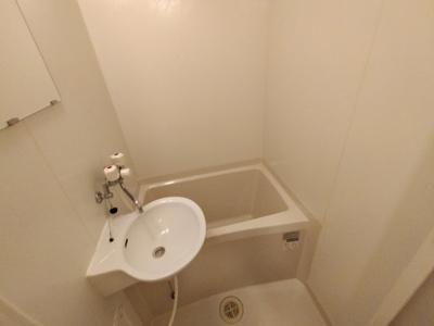 【浴室】レオパレスサンモールⅡ