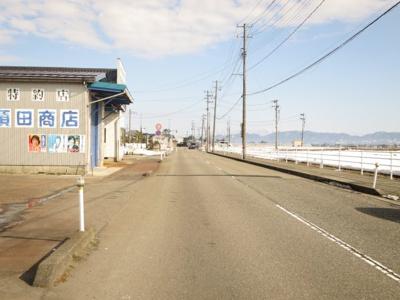 【周辺】新潟市南区田中 貸倉庫
