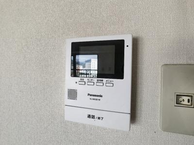 【セキュリティ】CO-OP下関南部町マンション 801号室