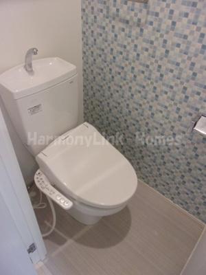 ソレイユ北赤羽のトイレです
