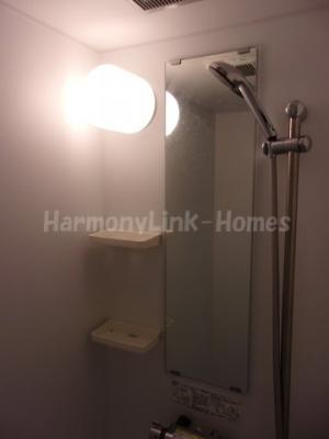 ソレイユ北赤羽のコンパクトで使いやすいシャワールームです
