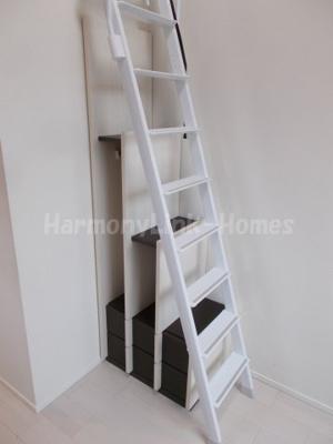 ハーモニーテラス豊玉北の梯子下収納