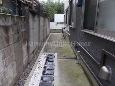 ハーモニーテラス豊玉北の駐輪スペース