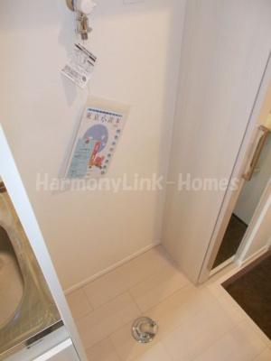 ハーモニーテラス豊玉北の室内洗濯機置き場(同間取り部屋参考写真)