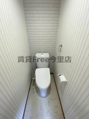【トイレ】ヒルバレー桃谷 仲介手数料無料
