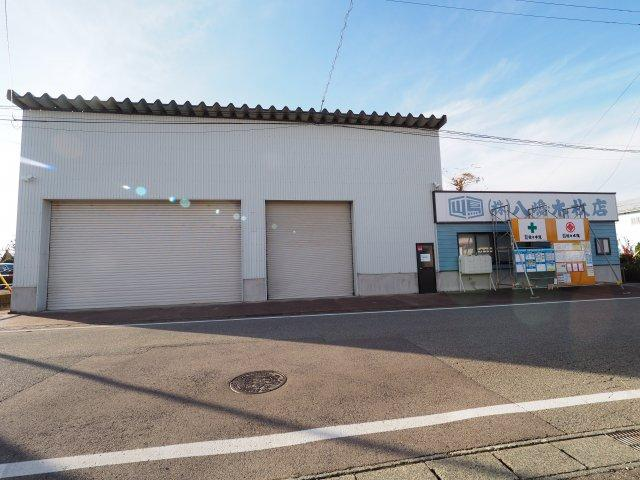 【外観】大仙市大花町 事業用・投資用・倉庫120坪超 JR大曲駅から1分の立地