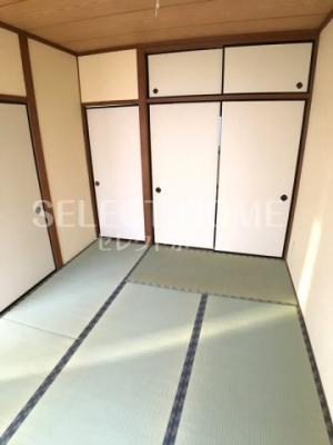 【寝室】レジデンス日晶Ⅰ