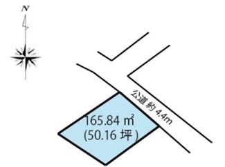 【土地図】高崎市寺尾町 売地