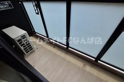 【バルコニー】エステムコート心斎橋central