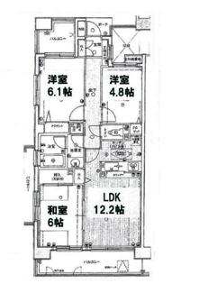 ■JR武蔵野線「南越谷」駅徒歩15分 3LDK 専有面積:65.75㎡