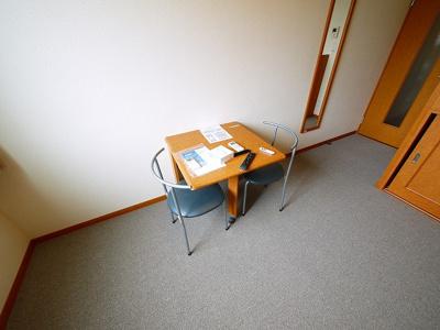 家具も付いてます。