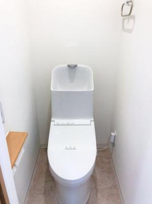 手洗付きのトイレです♪タオルリング付きなのが嬉しいです♪