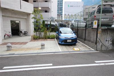 【駐車場】レジュールアッシュ大阪城北