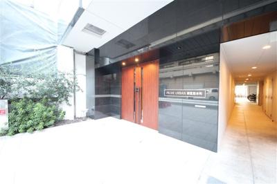 【エントランス】プライムアーバン御堂筋本町