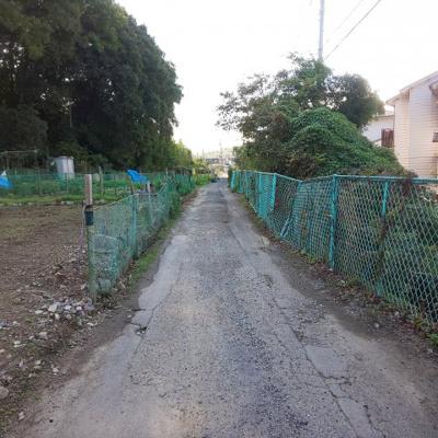 【前面道路含む現地写真】江尻町 売土地