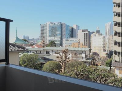 プレールドゥーク東新宿Ⅲの展望です