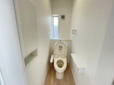 【トイレ】大村市原口町 クレイドルガーデン原口町第1 新築建売住宅