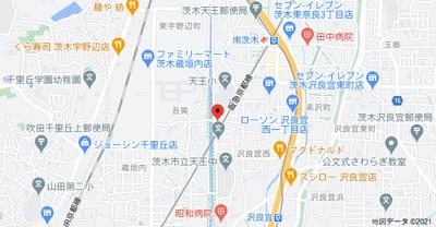 【地図】ロイヤル南茨木