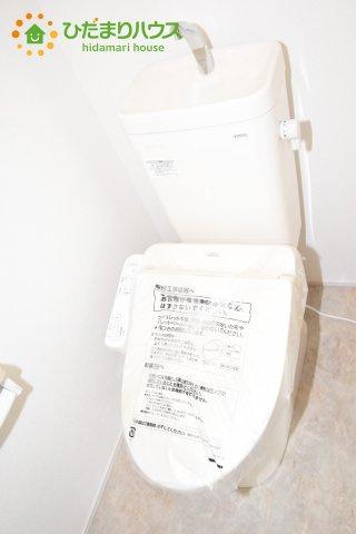 【トイレ】行田市持田20-1期 新築一戸建て リナージュ 03