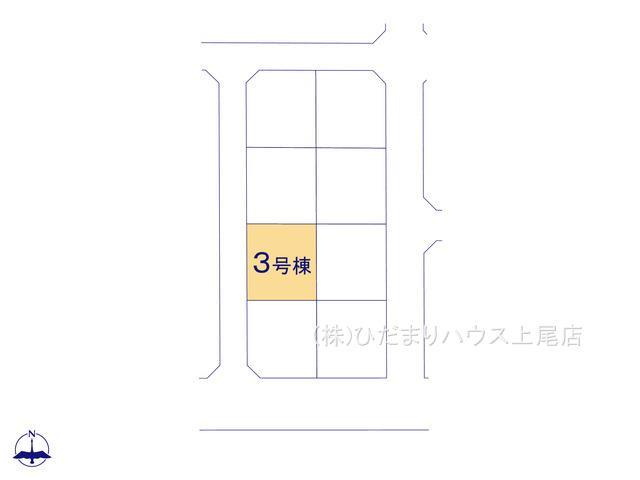 【区画図】行田市持田20-1期 新築一戸建て リナージュ 03