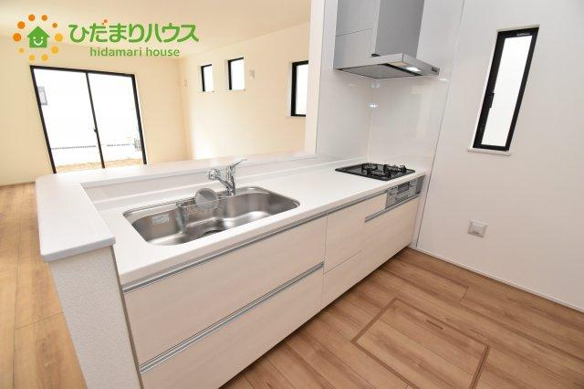 【キッチン】行田市持田20-1期 新築一戸建て リナージュ 07