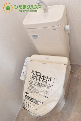 【トイレ】行田市持田20-1期 新築一戸建て リナージュ 07