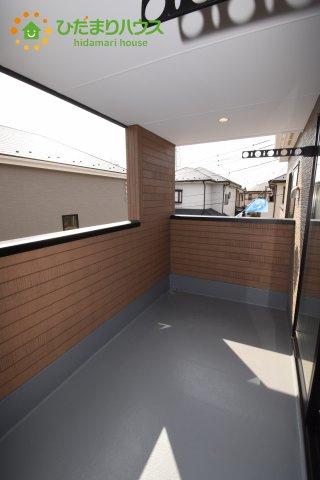 【バルコニー】行田市持田20-1期 新築一戸建て リナージュ 01