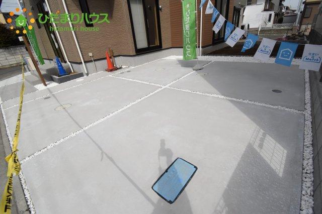 【駐車場】行田市持田20-1期 新築一戸建て リナージュ 01