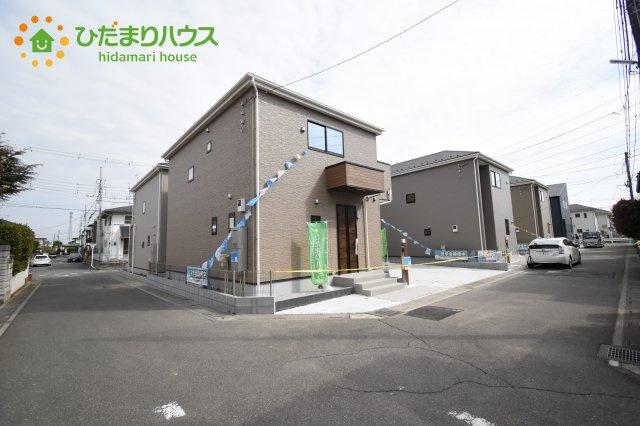 【前面道路含む現地写真】行田市持田20-1期 新築一戸建て リナージュ 01