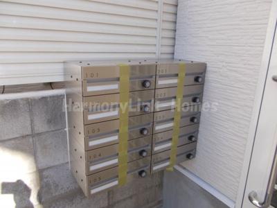 ソフィアアイリスの郵便ボックス
