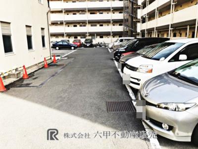 【駐車場】高殿コーポ
