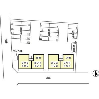【区画図】セルバ B