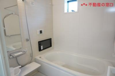【浴室】神戸市垂水区清水が丘1丁目 新築一戸建て 2区画分譲