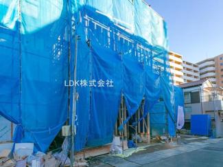 上棟   (撮影 21/02/18)