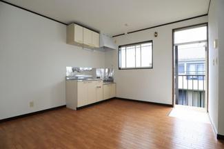 【キッチン】フラワーハイツ 2階2DK