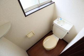 【トイレ】フラワーハイツ 2階2DK