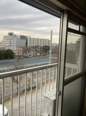 お部屋からの眺望です。