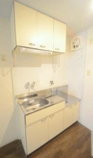【キッチン】《RC造!満室!》北九州市八幡東区祇園一棟アパート