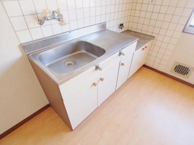 【キッチン】石田アパート3