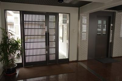 【エントランス】グランフォルム清水別邸 3階